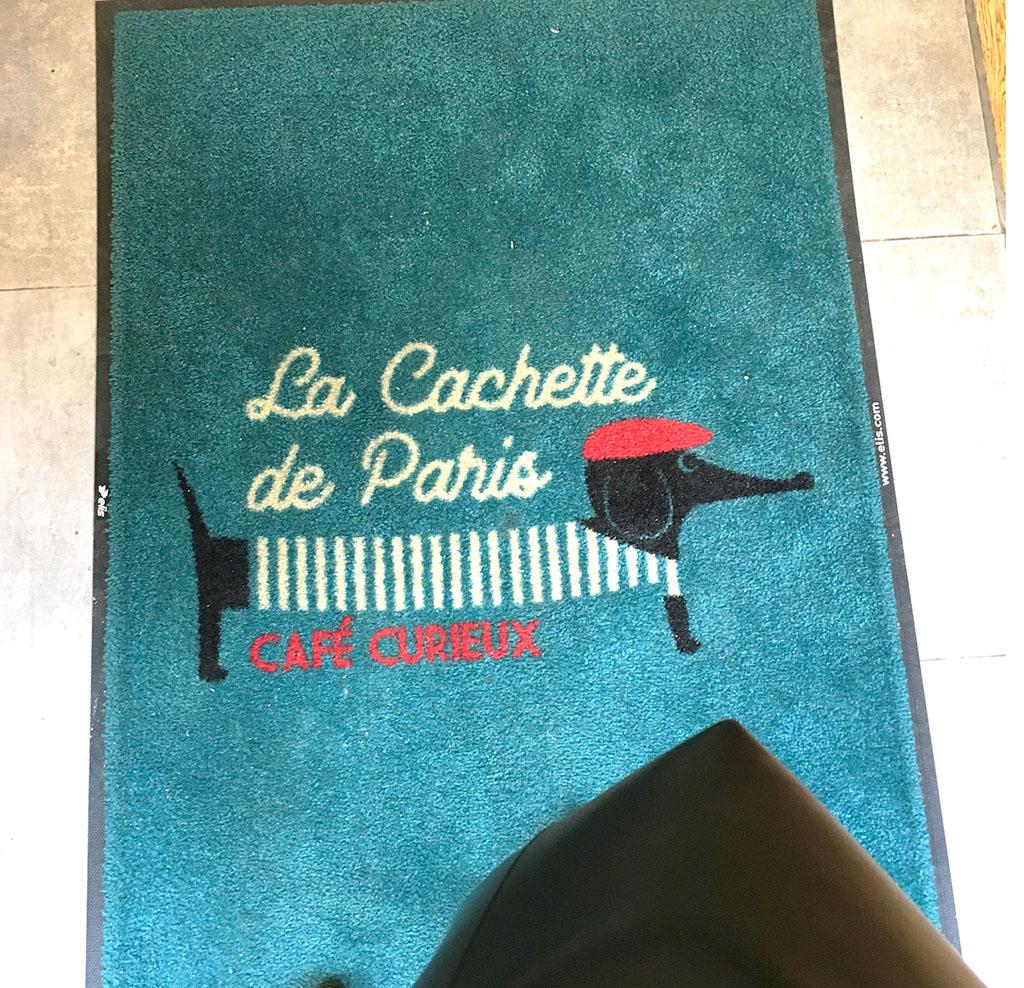 Entrée de La Cachette de Paris