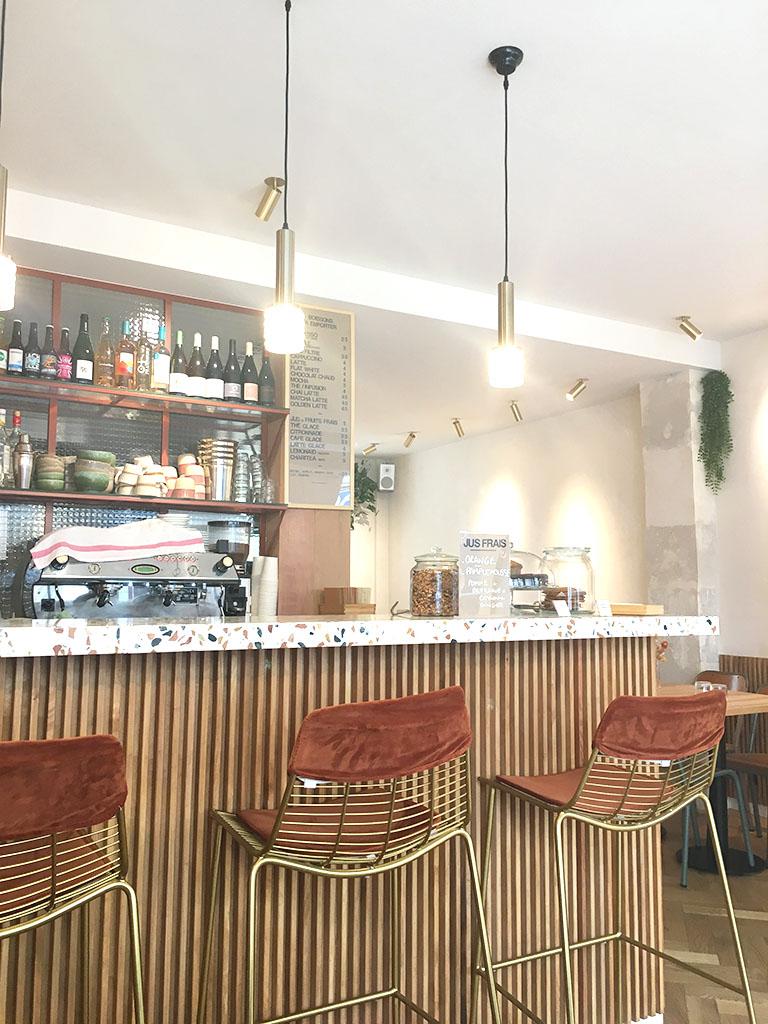 Bar du café/restaurant Caracoli
