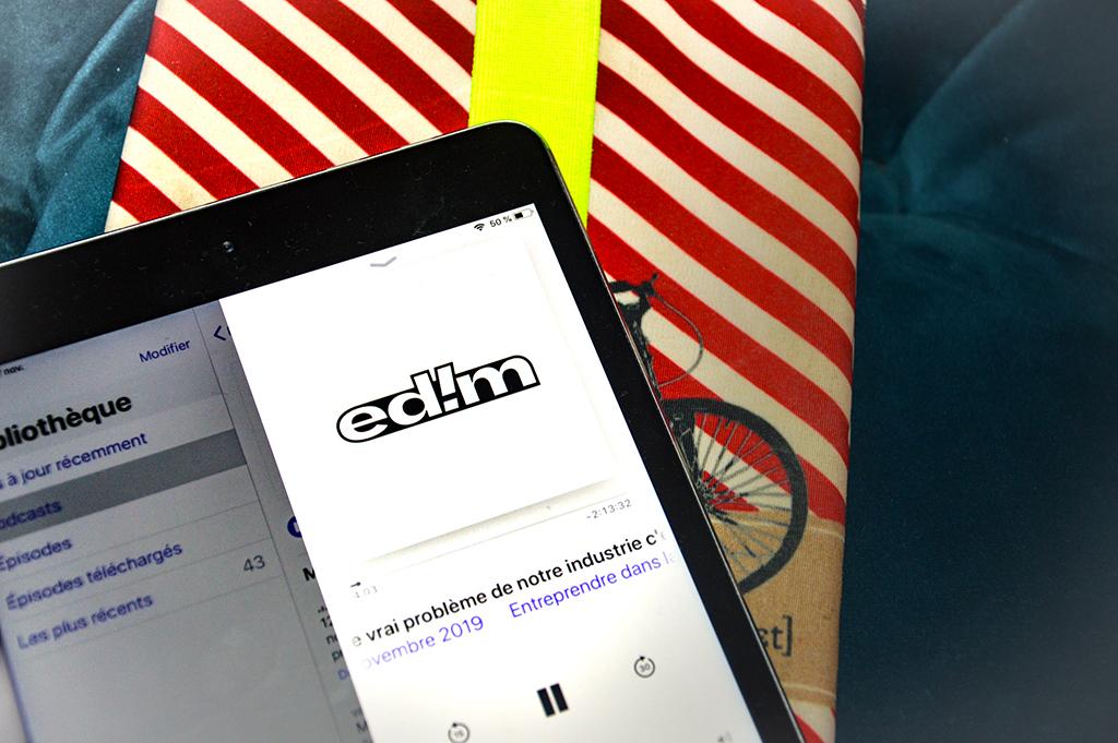 le podcast Entreprendre dans la mode sur Apple podcasts