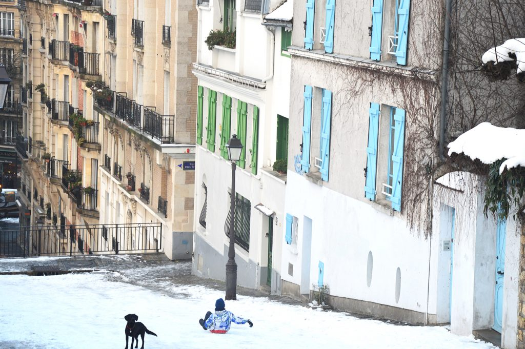 Rue des Saules, Montmartre, Paris