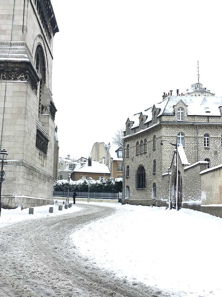 Flâner à Montmartre, rue du Chevalier de la Barre