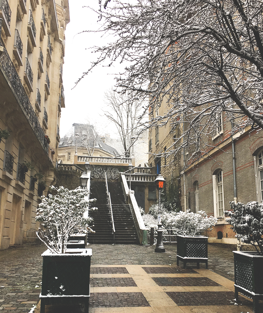 rue Girardon, Montmartre, Paris