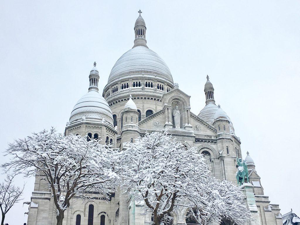 Flâner à Montmartre : Sacré cœur