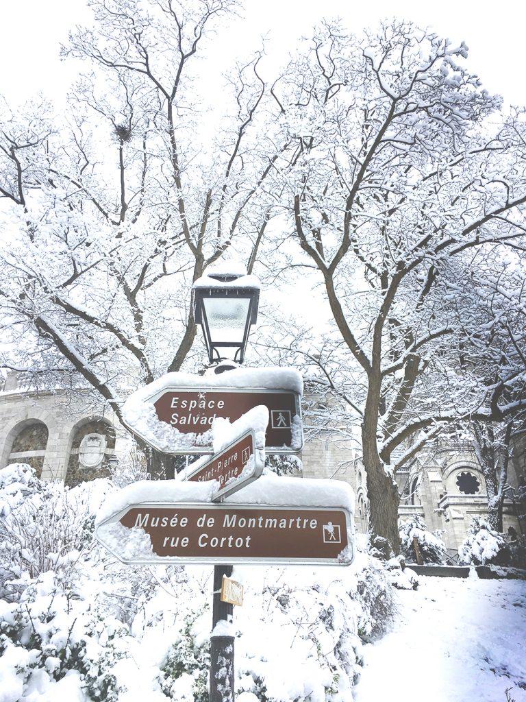 Flâner à Montmartre, le Sacré-cœur