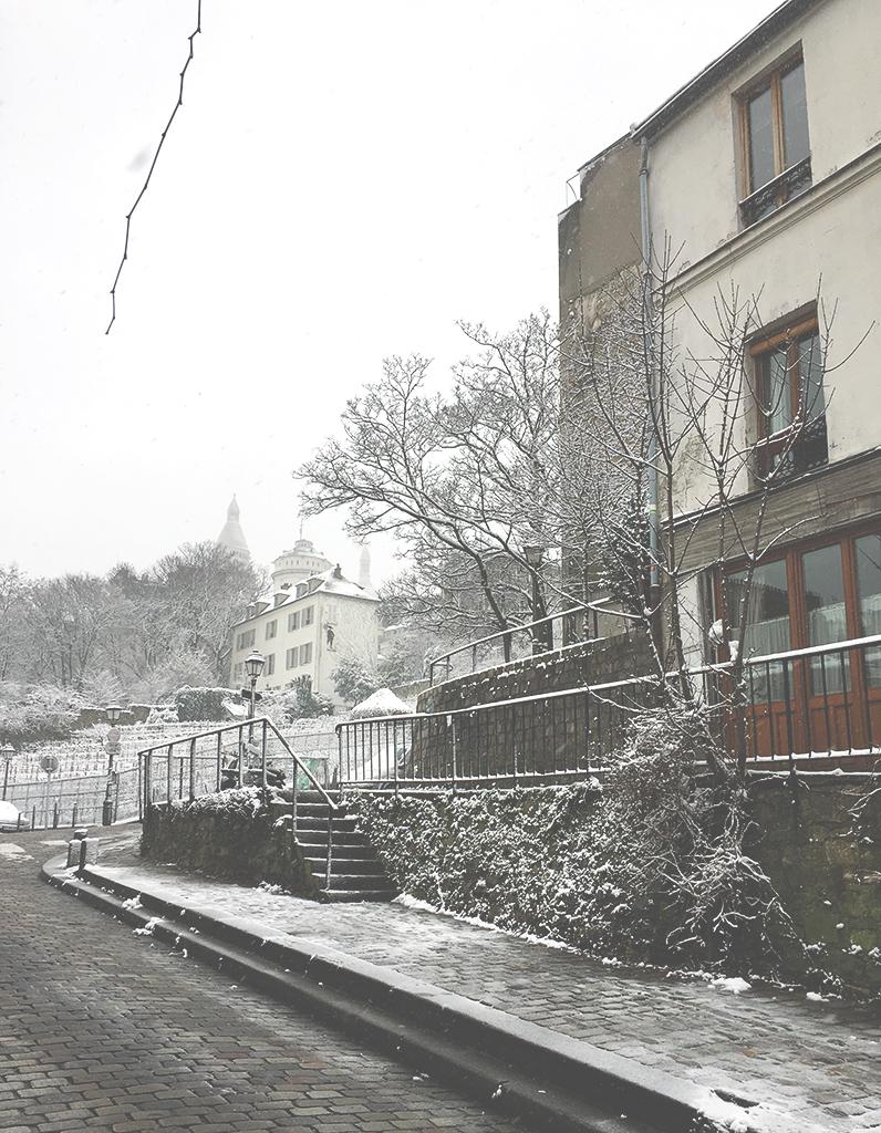 Flâner à Montmartre : rue Saint-Vincent