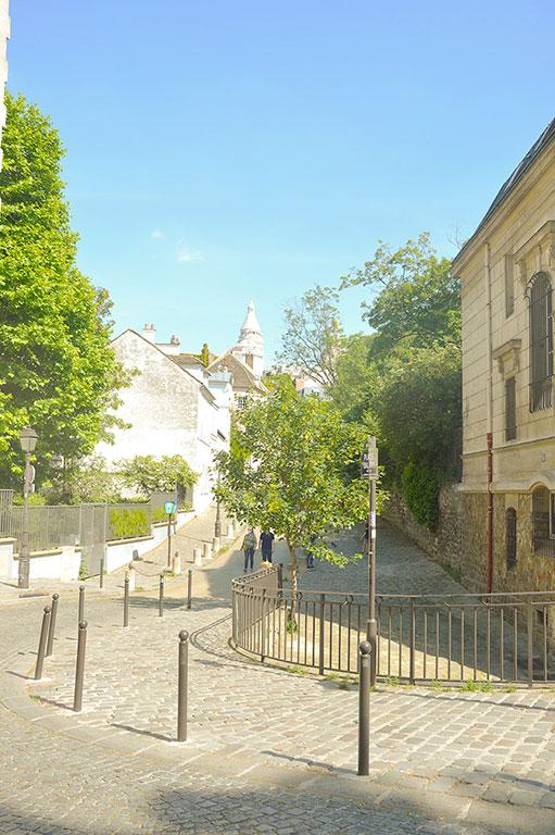 Butte Montmartre, rue de l'abreuvoir