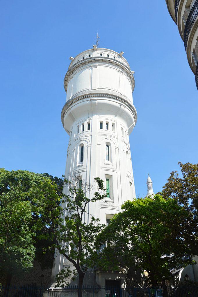 le château d'eau de Montmartre