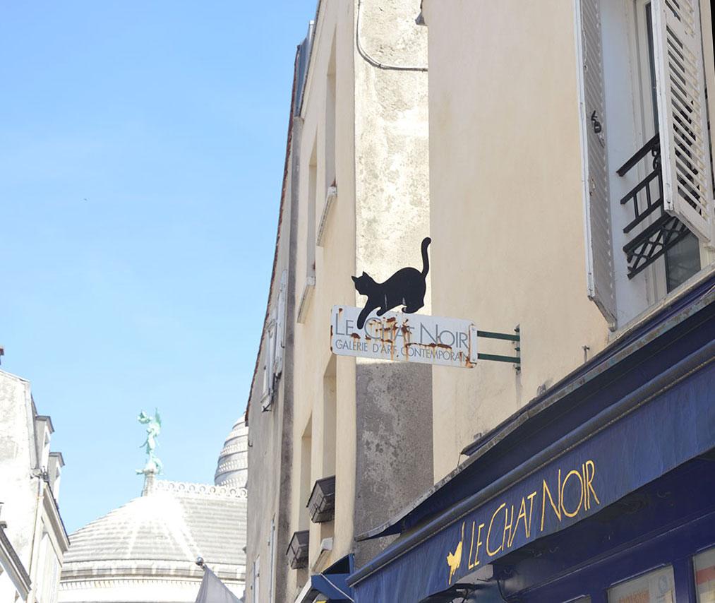 rue de la Butte Montmartre
