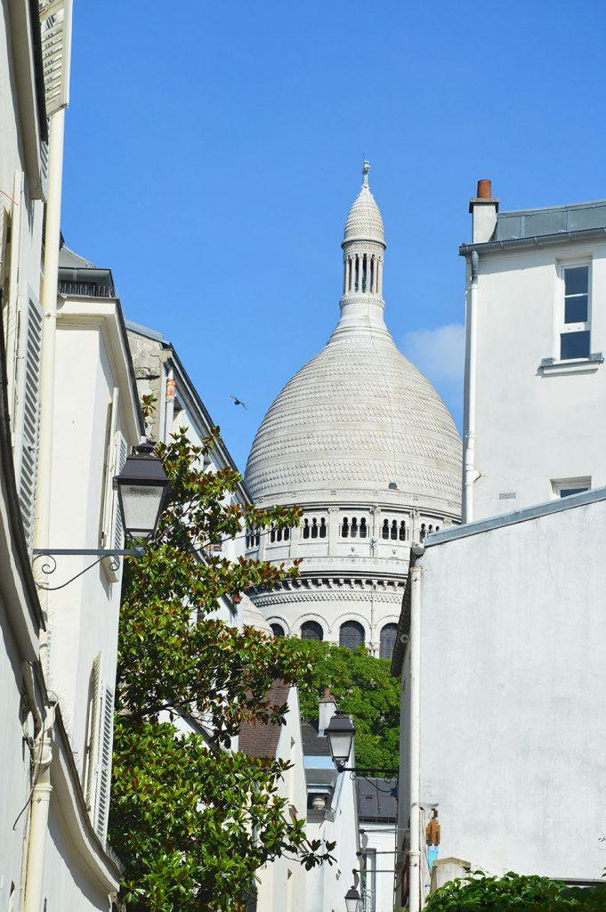 la Butte Montmartre, Sacré-cœur