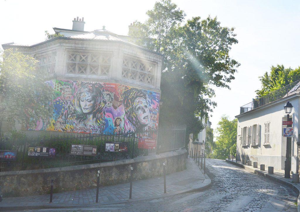 rue Norvins, Butte Montmartre