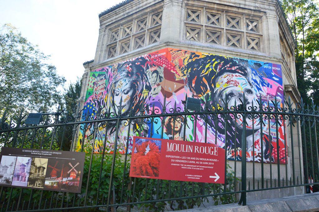 street art, Dalida, Edith Piaf