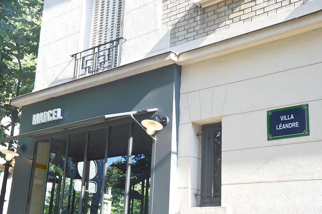 Villa Léandre, Marcel