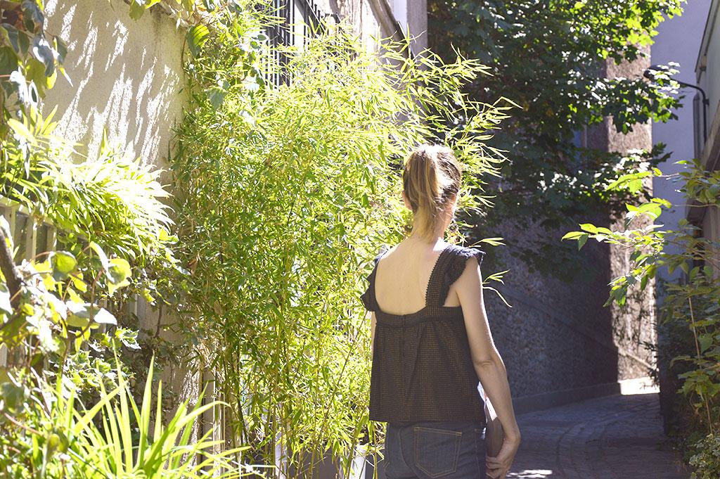 blouse d'été Sézane, Sézane, look Sézane