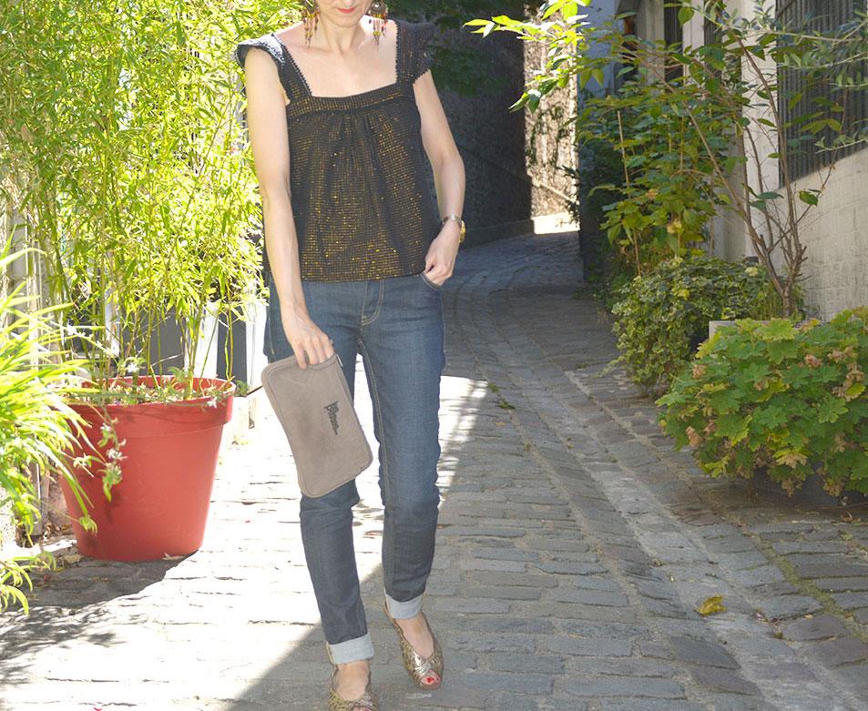 blouse d'été Sézane