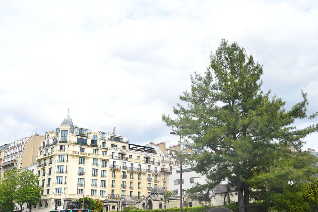 le Terrass Hotel, Pont Caulaincourt, cimetière de Montmartre