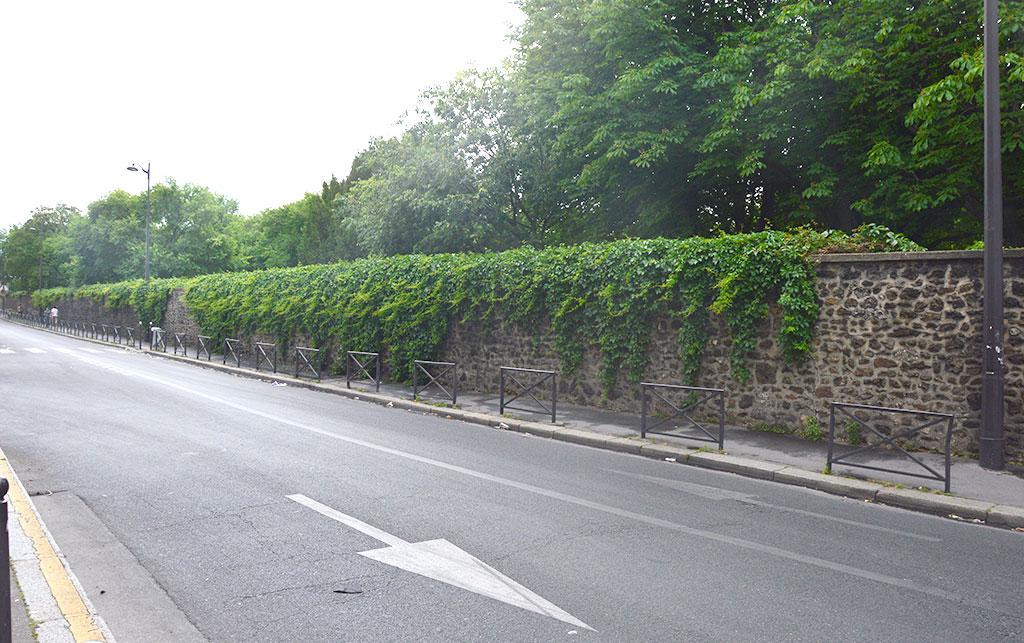 rue Joseph de Maistre, cimetière de Montmartre