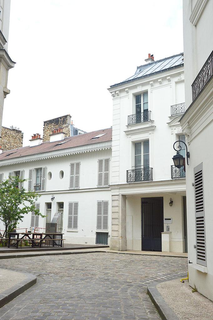 la Villa des Arts, Paris 18e