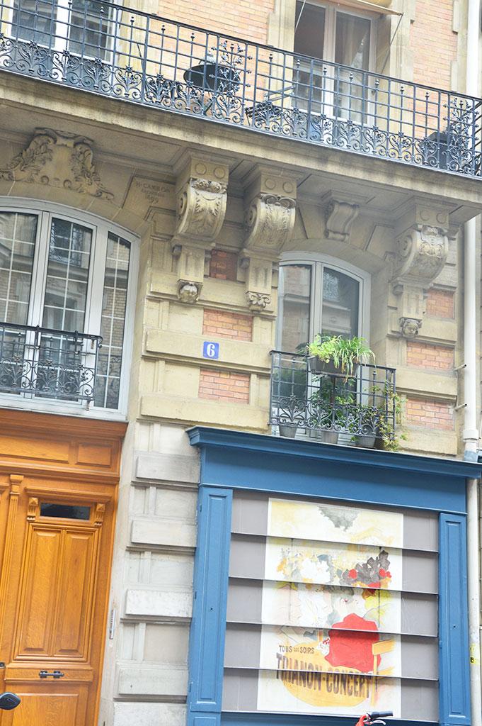 rue Cavallotti, cimetière de Montmartre