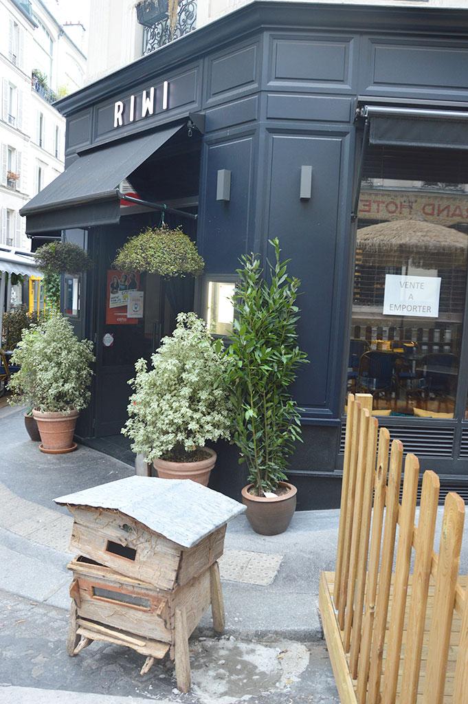 Riwi, rue Véron, Montmartre