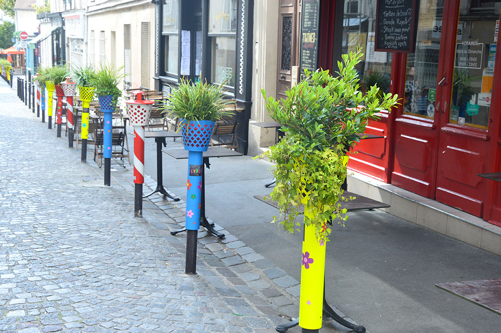 terrasse de restaurants à Montmartre, Koff