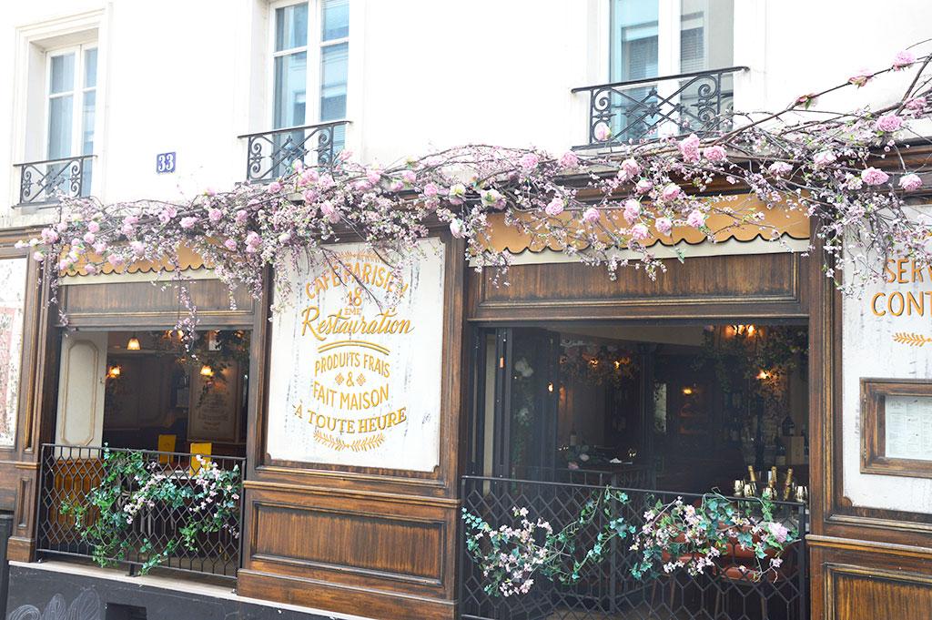 Vrai Paris, terrasses de restaurants à Montmartre
