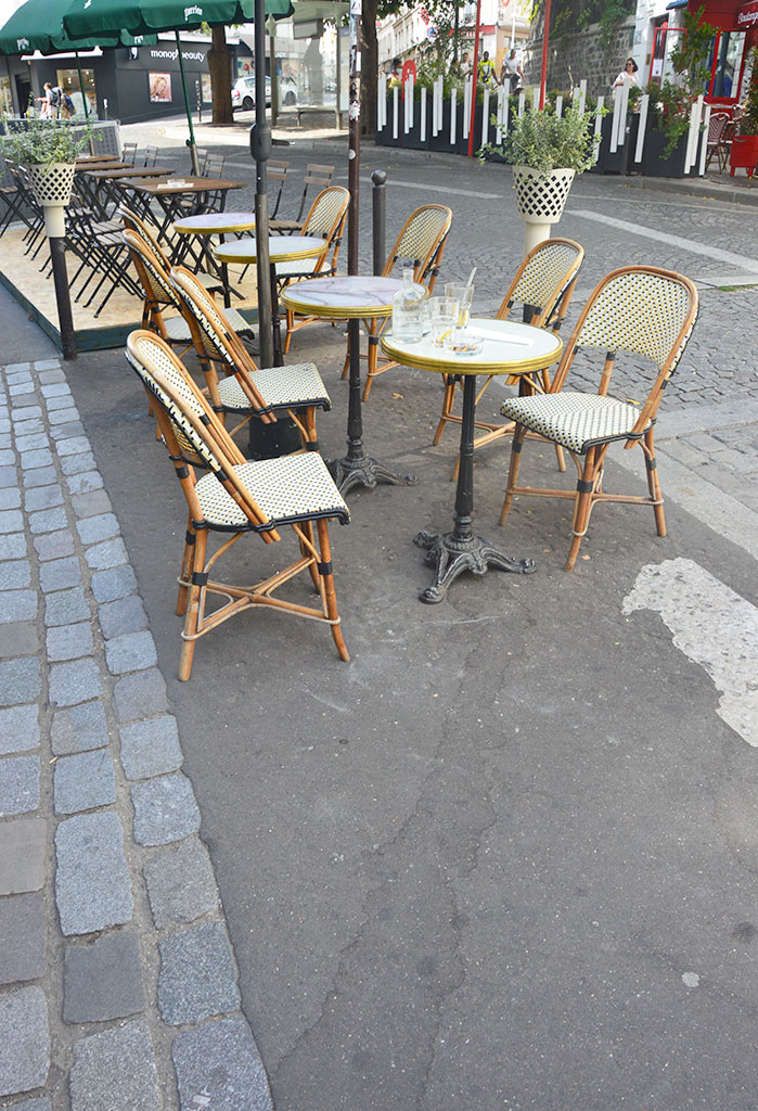 le restaurant Saint Jean, terrasses de restaurants à Montmartre