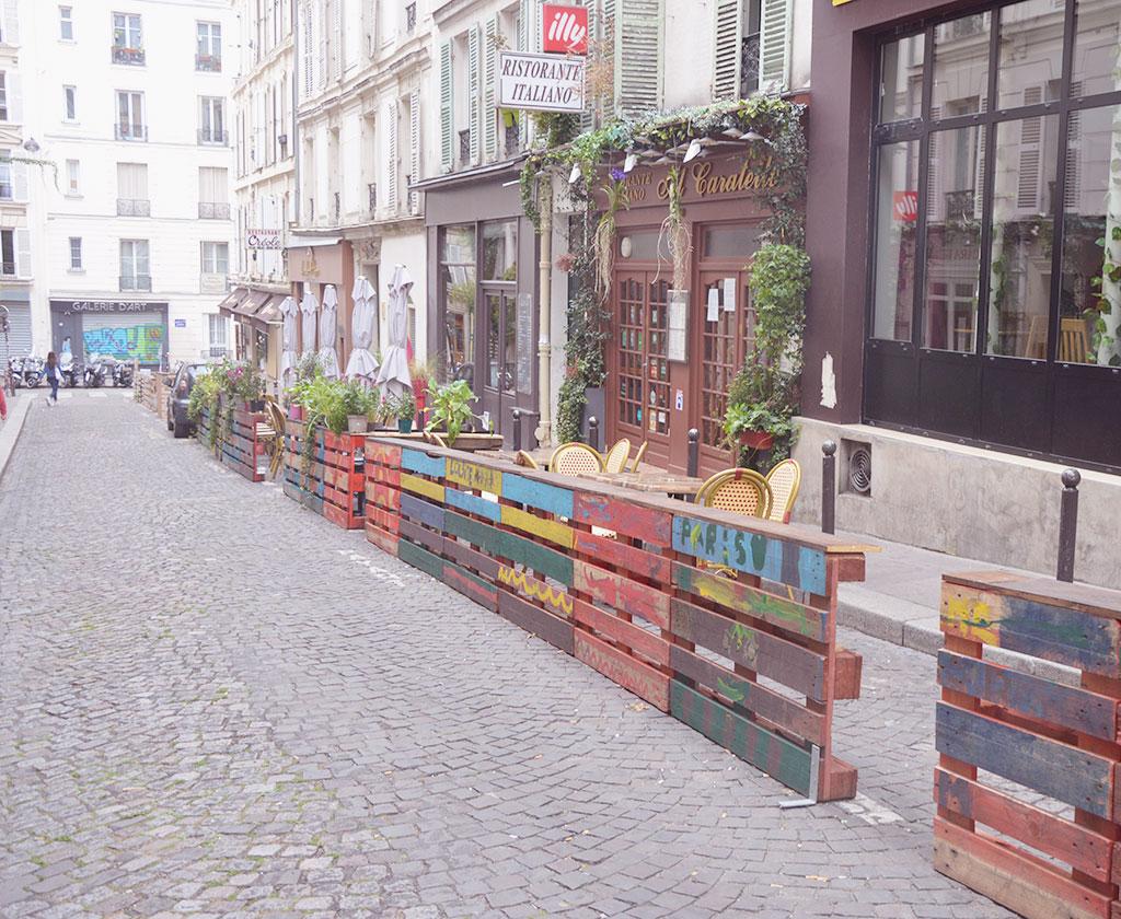 Al Caratello, à Montmartre