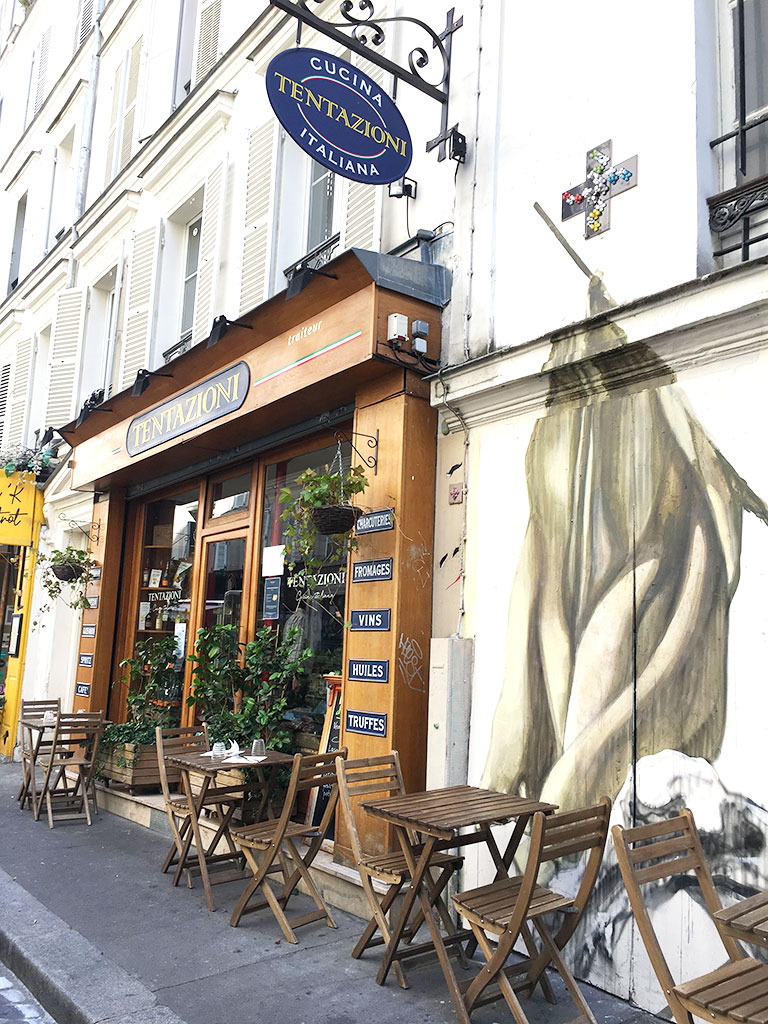 Tentazioni, rue Véron, Montmartre